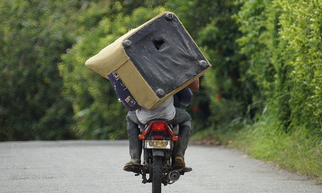 פיצוי כספי בגין תאונת אופנוע בזמן העבודה